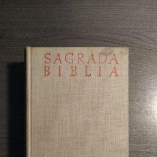 Libros de segunda mano: SAGRADA BIBLIA. BOVER CANTERA. B.A.C. 6ª ED. 1961. . Lote 184843418