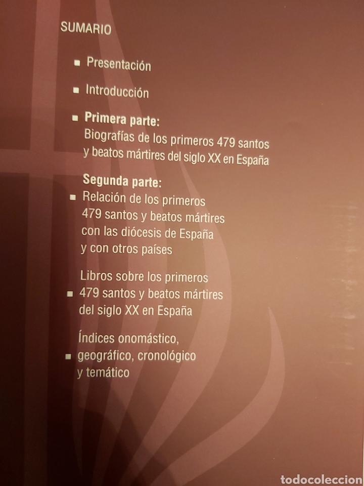Libros de segunda mano: LOS PRIMEROS 479 SANTOS Y BEATOS MÁRTIRES DEL SIGLO XX EN ESPAÑA. - Foto 2 - 185748465