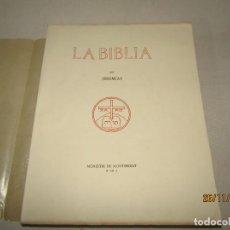 Libros de segunda mano: ANTIGUO *LA BIBLIA DE MONTSERRAT* TOMO XIV - JEREMIAS - AÑO 1950. Lote 186012866