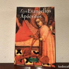 Libros de segunda mano: LOS EVANGELIOS APÓCRIFOS. ESTUDIOS INTRODUCTORIOS AURELIO DE SANTOS. BIBLIOTECA AUTORES CRISTIANOS. Lote 186047410