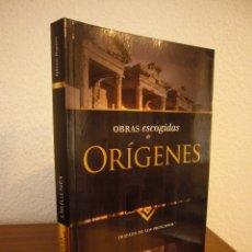 Libros de segunda mano: OBRAS ESCOGIDAS DE ORÍGENES: TRATADO DE LOS PRINCIPIOS (CLIE, 2018) LIBRO NUEVO. Lote 186243830