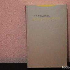 Libros de segunda mano: LIBRO JESUS Y EL JUDAISMO EDITORIAL TRAOTTA. Lote 187215703