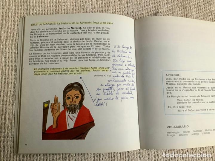Libros de segunda mano: Camino, Verdad y Vida, Catecismo Escolar 5° EGB - Foto 2 - 187479202