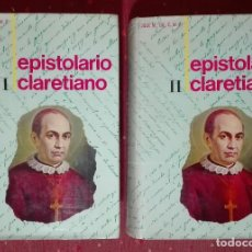 Libros de segunda mano: JOSÉ MARÍA GIL. EPISTOLARIO CLARETIANO. EPISTOLARIO DE SAN ANTONIO MARÍA CLARET. 1970. Lote 188474418