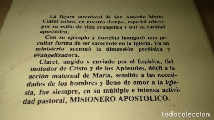 Libros de segunda mano: SACERDOTES MISIONEROS AL ESTILO DE CLARET - I SEMANA SACERDOTAL CLARETIANA/ J 402 - Foto 3 - 188642831