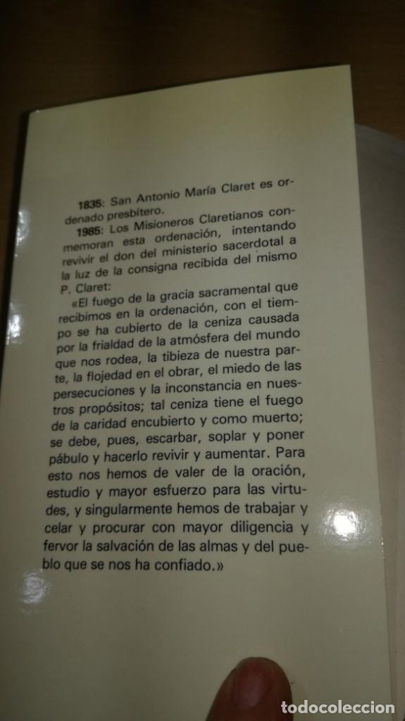 Libros de segunda mano: SACERDOTES MISIONEROS AL ESTILO DE CLARET - I SEMANA SACERDOTAL CLARETIANA/ J 402 - Foto 4 - 188642831