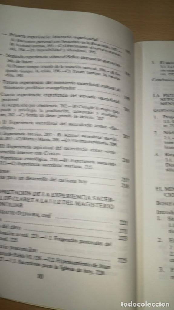 Libros de segunda mano: SACERDOTES MISIONEROS AL ESTILO DE CLARET - I SEMANA SACERDOTAL CLARETIANA/ J 402 - Foto 9 - 188642831