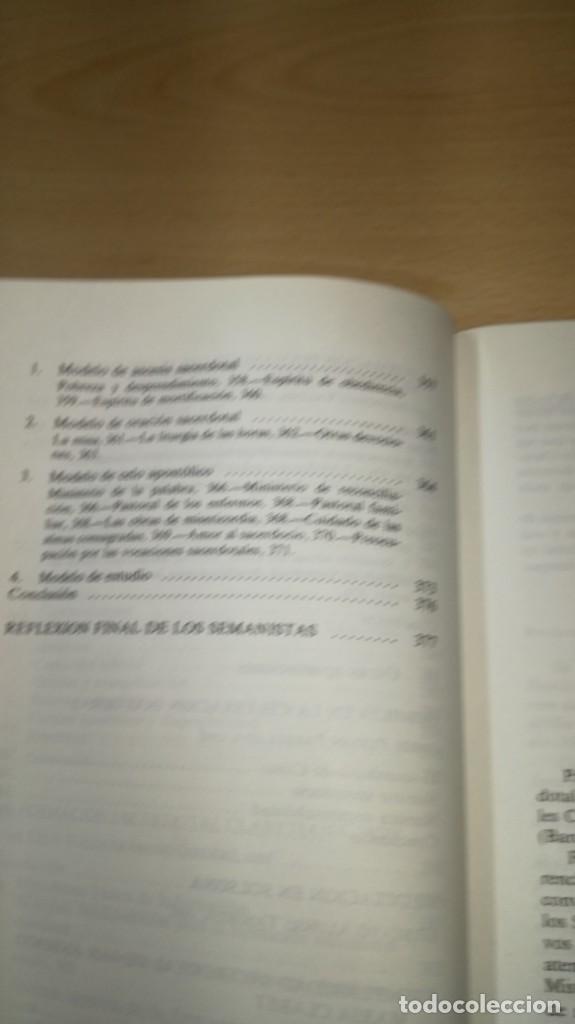 Libros de segunda mano: SACERDOTES MISIONEROS AL ESTILO DE CLARET - I SEMANA SACERDOTAL CLARETIANA/ J 402 - Foto 11 - 188642831