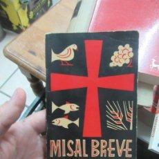Libros de segunda mano: MISAL BREVE, J. M. SUSTAETA. L.20601. Lote 189335282