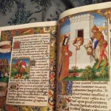 Libros de segunda mano: LIBRO DE HORAS DE CARLOS VIII REY DE FRANCIA. FACSIMIL DEL ORIGINAL DE 1500. 987 EJEMPLARES. 1995.. Lote 187656261