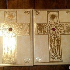 Libros de segunda mano: BIBLIA DE JERUSALÉN ILUSTRADA POR GUSTAVO DORÉ EN 2 TOMOS OBRA COMPLETA AUTOR: EDICIÓN ESPAÑ. Lote 189632640