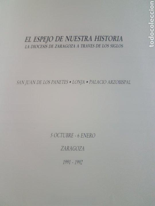 Libros de segunda mano: Espejo de nuestra historia. La Diócesis de Zaragoza a través de los siglos. - Foto 3 - 190081902