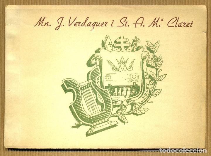 IV APLEC CLARETIA MATAGALLS, 1953 MN. J. VERDAGUER I ST. A. Mª. CLARET (Libros de Segunda Mano - Religión)