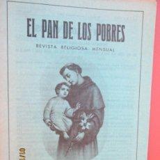 Libros de segunda mano: EL PAN DE LOS POBRES , PUBLICACIÓN RELIGIOSA MENSUAL Nº 991 - DICIEMBRE 1983. Lote 190877340