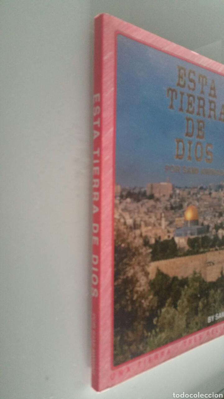Libros de segunda mano: Esta tierra de dios, por Asami Awwad, nueva edición 1999. - Foto 2 - 190925570