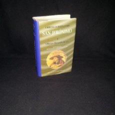 Libros de segunda mano: SAN JERONIMO - OBRAS COMPLETAS I (OBRAS HOMILÉTICAS) - EDICIÓN BILINGÜE - 1990. Lote 192946287