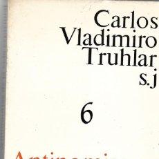 Libros de segunda mano: ANTINOMIAS DE LA VIDA ESPIRITUAL. Lote 193337502