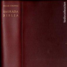 Libros de segunda mano: NÁCAR Y COLUNGA : SANTA BIBLIA (B.A.C., 1961) FORMATO 12X19 CM.. Lote 193632450