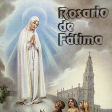 Libros de segunda mano: LIBRO MINI EL ROSARIO DE FÁTIMA 44 PÁGINAS . Lote 193869923