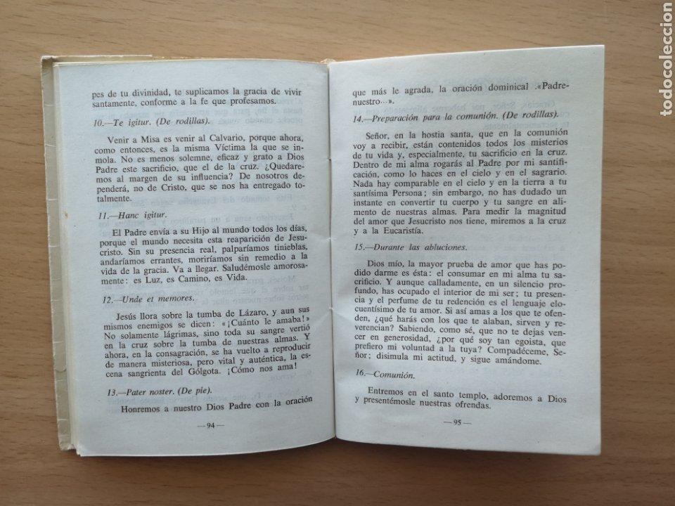 Libros de segunda mano: COMENTARIOS PARA MISAS COMUNITARIAS 3. JUAN ALONSO ORTIZ. CICLO DE PASCUA 1960 - Foto 2 - 194012646