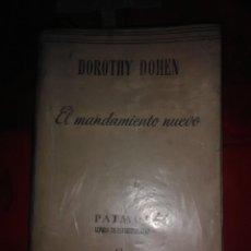 Libros de segunda mano: EL MANDAMIENTO NUEVO. D. DOHEN. PATMOS, N 40. 1954.. Lote 194162632