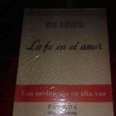 Libros de segunda mano: LA FE EN EL AMOR. D. BARSOTTI. PATMOS, N 131. 1969.. Lote 194168003