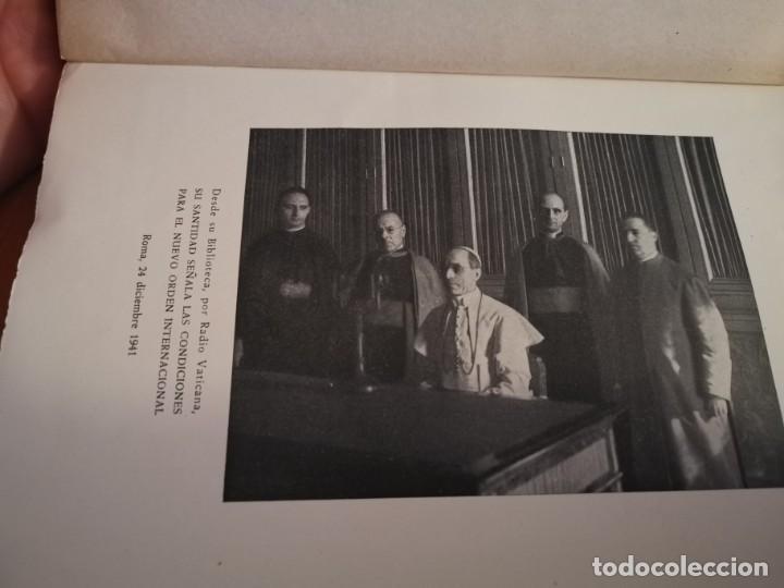 Libros de segunda mano: DISCURSOS Y RADIOMENSAJES DE SU SANTIDAD PIO XIII TERCER AÑO DE PONTIFICADO MARZO 1941-1942 1946 - Foto 4 - 194239913