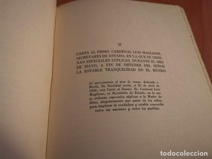Libros de segunda mano: DISCURSOS Y RADIOMENSAJES DE SU SANTIDAD PIO XIII TERCER AÑO DE PONTIFICADO MARZO 1941-1942 1946 - Foto 7 - 194239913