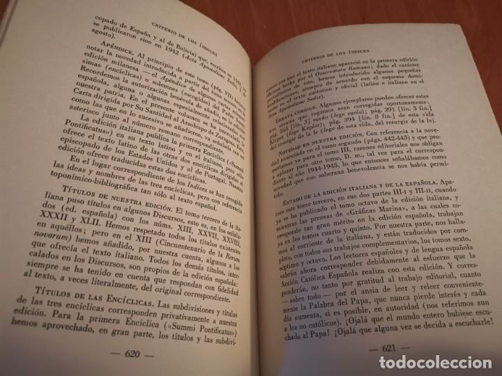 Libros de segunda mano: DISCURSOS Y RADIOMENSAJES DE SU SANTIDAD PIO XIII TERCER AÑO DE PONTIFICADO MARZO 1941-1942 1946 - Foto 10 - 194239913