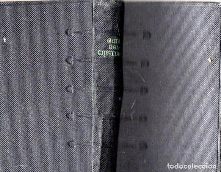 Libros de segunda mano: Guía del cristiano. Devocionario popular. - Foto 2 - 194243317
