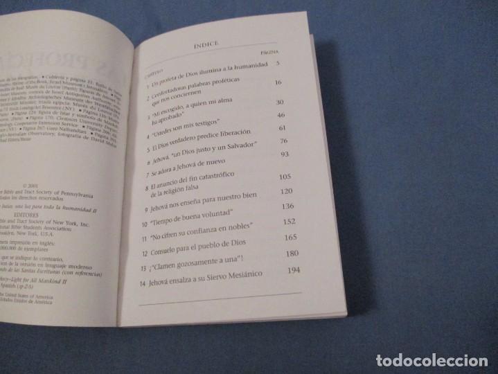 Libros de segunda mano: LAS PROFECÍAS DE ISAÍAS. UN LUZ PARA TODA LA HUMANIDAD - Foto 2 - 194243835