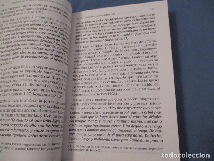 Libros de segunda mano: LAS PROFECÍAS DE ISAÍAS. UN LUZ PARA TODA LA HUMANIDAD - Foto 3 - 194243835