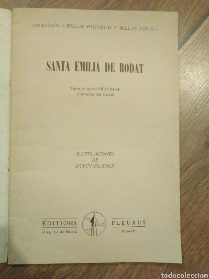 Libros de segunda mano: Santa Emilia de Rodat / Agnes Richomme - Foto 2 - 194244237