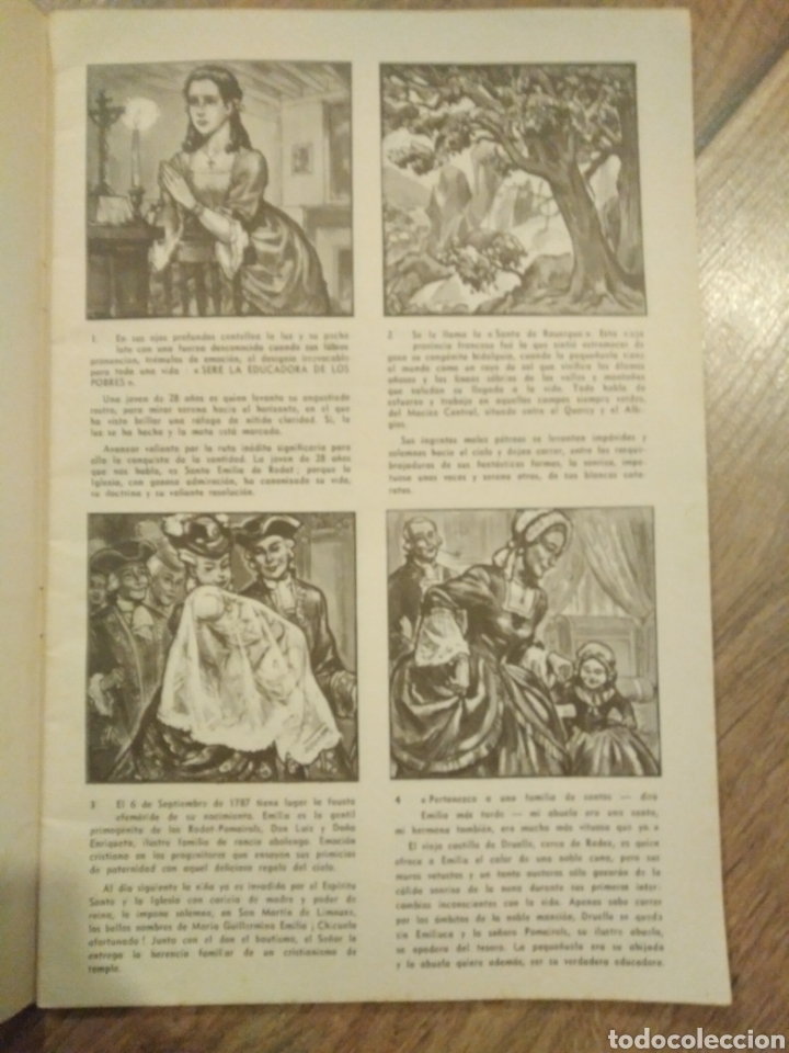 Libros de segunda mano: Santa Emilia de Rodat / Agnes Richomme - Foto 4 - 194244237