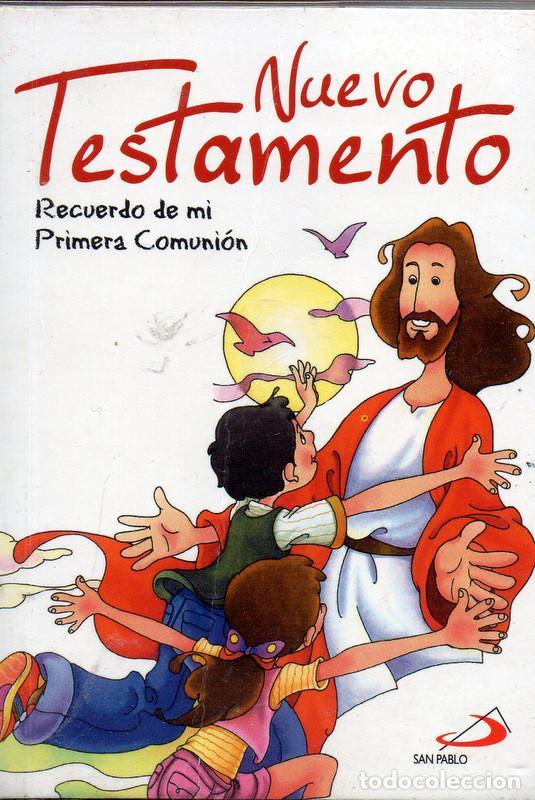 NUEVO TESTAMENTO. RECUERDO DE MI PRIMERA COMUNIÓN. (Libros de Segunda Mano - Religión)