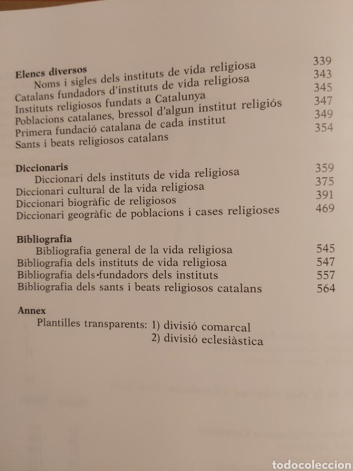 Libros de segunda mano: CATALONIA RELIGIOSA. ATLES HISTORIC: DELS ORIGENS ALS NOSTRES DIES. 1991 - Foto 5 - 194249593