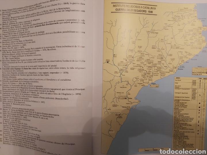 Libros de segunda mano: CATALONIA RELIGIOSA. ATLES HISTORIC: DELS ORIGENS ALS NOSTRES DIES. 1991 - Foto 6 - 194249593