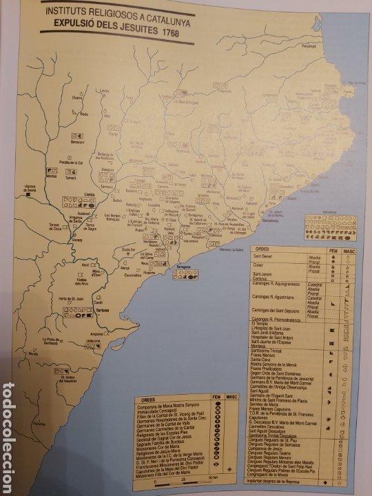 Libros de segunda mano: CATALONIA RELIGIOSA. ATLES HISTORIC: DELS ORIGENS ALS NOSTRES DIES. 1991 - Foto 7 - 194249593