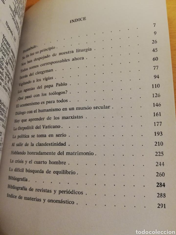 Libros de segunda mano: LA IGLESIA DESBORDADA (PETER HEBBLETHWAITE) - Foto 3 - 194252530