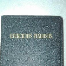 Libros de segunda mano: EJERCICIOS PIADOSOS - P. L. RIBERA - EDITORIAL REGINA 1961. . Lote 194283330
