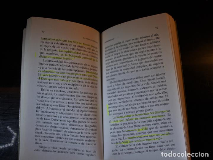 Libros de segunda mano: La vida iluminada . Joan Chitistter, OSB. Ed. Sal Terrae. Santander 2001. - Joan Chitistter, OSB - Foto 4 - 194286403