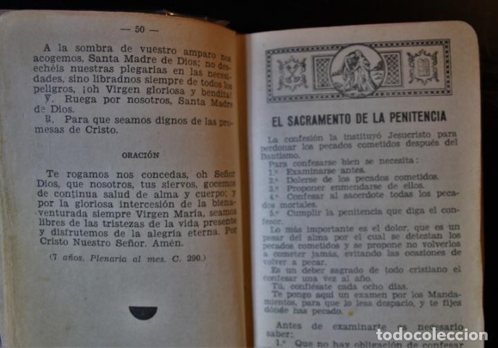 Libros de segunda mano: Devocionario de las Hijas de María. P. Argimiro Hidalgo, S. J.. Ed. Casa Martín. Valladolid 1946. - - Foto 4 - 194286406