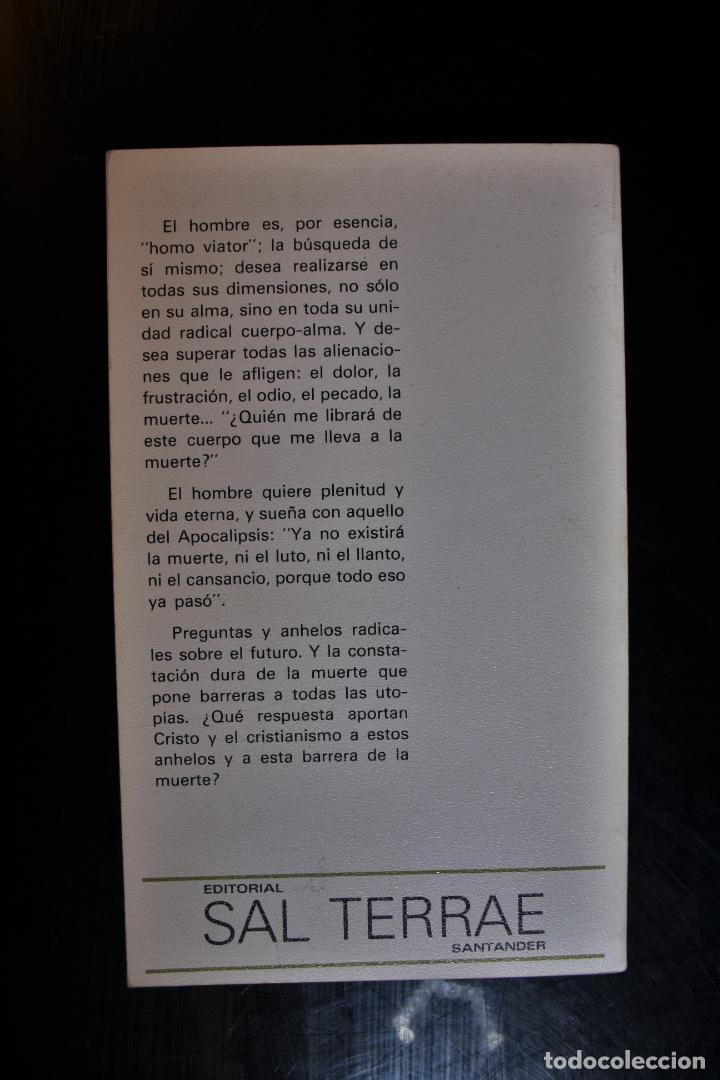 Libros de segunda mano: La Resurrección de Cristo. Nuestra resurrección en la muerte. Leonardo Boff . Ed. Sal Terrae. Santan - Foto 2 - 194286407