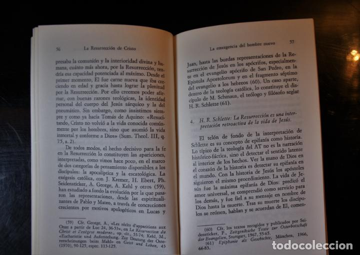 Libros de segunda mano: La Resurrección de Cristo. Nuestra resurrección en la muerte. Leonardo Boff . Ed. Sal Terrae. Santan - Foto 4 - 194286407