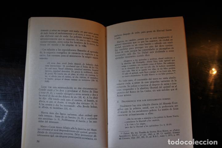 Libros de segunda mano: Pobreza evangélica. Serafín Matellán, C.M.F.. Ed. Publicaciones Claretianas. Madrid 1975. - Serafín - Foto 6 - 194286408
