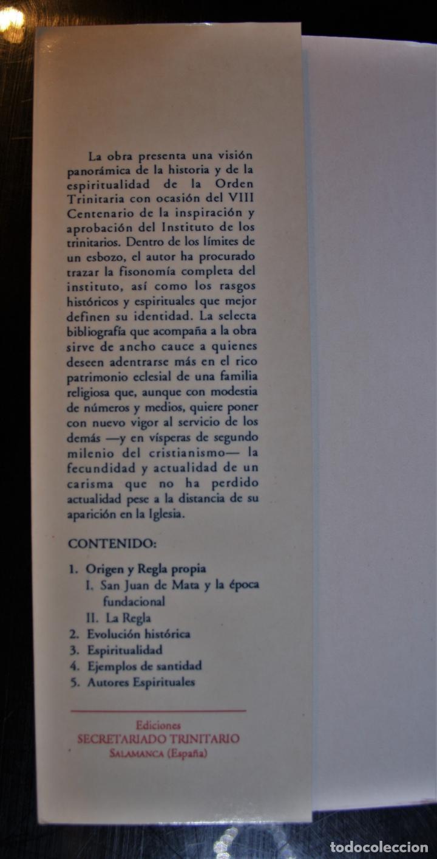 Libros de segunda mano: La Orden de la Santísima Trinidad. Juan Pujana, OST. Ed. Secretariado Trinitario. Salamanca 1993. - - Foto 2 - 194286412