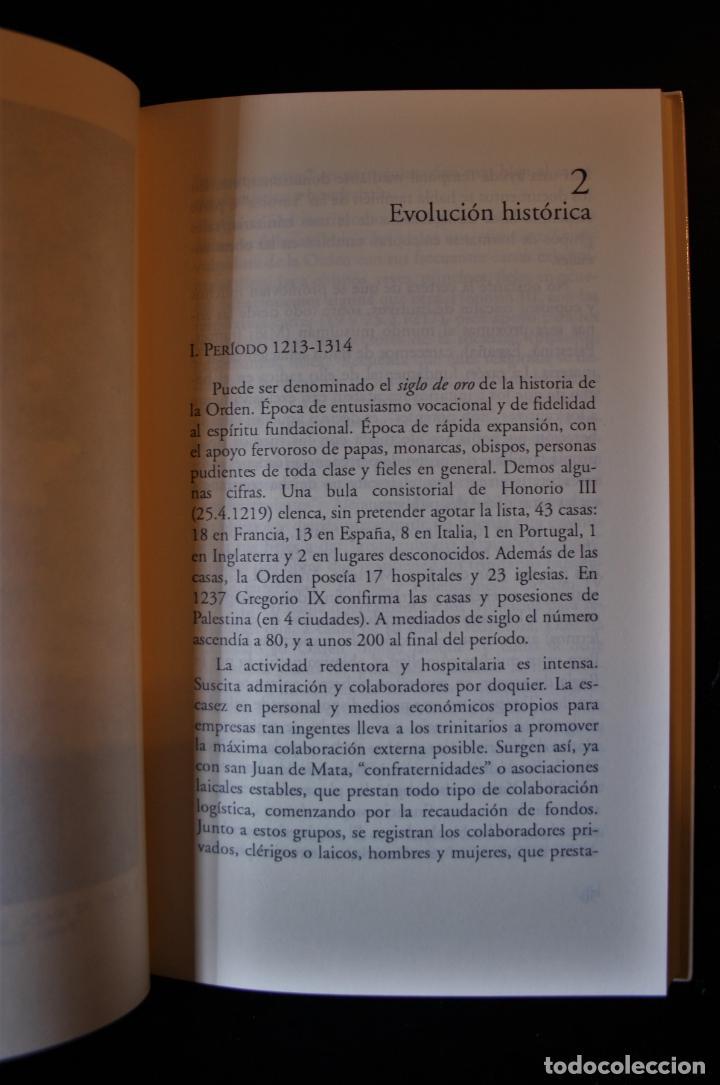Libros de segunda mano: La Orden de la Santísima Trinidad. Juan Pujana, OST. Ed. Secretariado Trinitario. Salamanca 1993. - - Foto 6 - 194286412