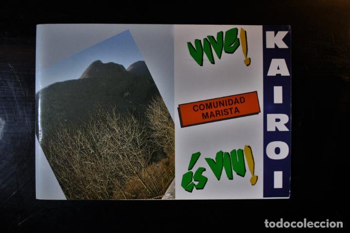 """""""CANCIONERO """"""""VIVE"""""""". KAIROI. ED. PPC. MADRID 1988. """" - KAIROI (Libros de Segunda Mano - Religión)"""