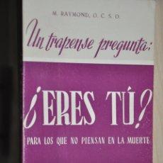 Libros de segunda mano: ERES TU, M.RAYMOND, VER TARIFAS ECONOMICAS ENVIOS. Lote 194295615