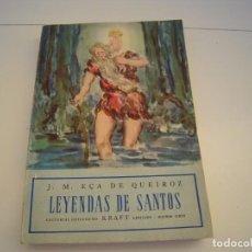 Libros de segunda mano: LEYENDAS DE SANTOS. Lote 194312895